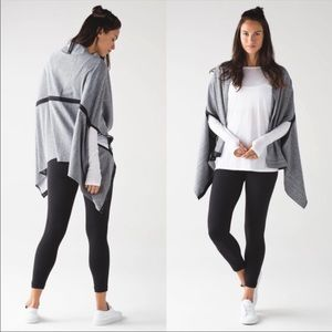 NEW Lululemon Vinyasa Wrap Heathered Herringbone